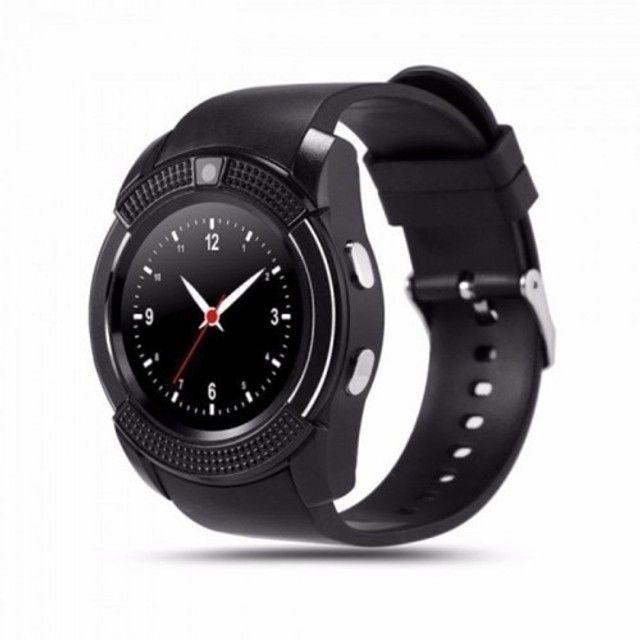 Bateria recarregável relogio smartwatch DZ09, QW09, W8, A1, V8, X6, GT08 - Foto 6