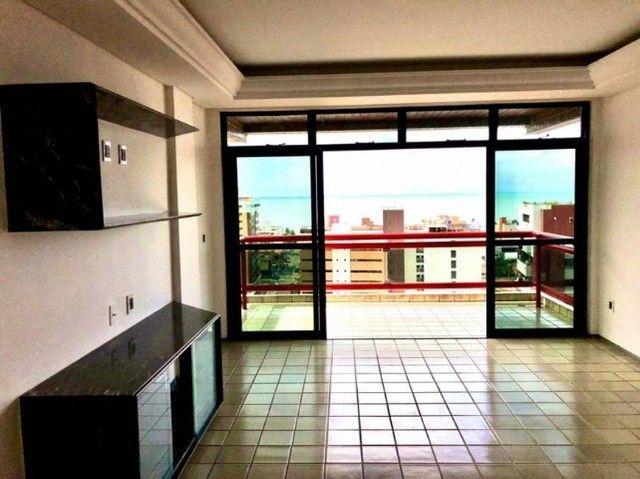 Apartamento em João Pessoa 240m² projetado e completo no melhor de Manaíra - Foto 5
