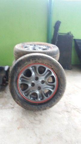 Peças Mazda Mx3 - Jogo Rodas Mx3
