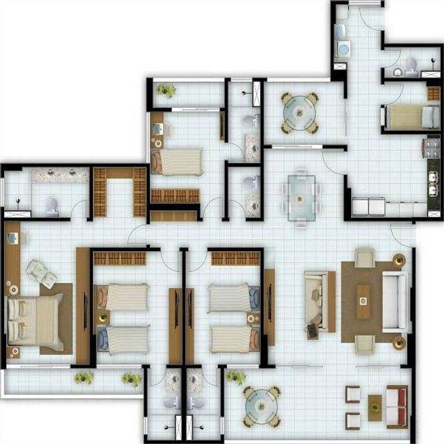 Apartamentos novos no Condomínio Broadway, vizinho ao Shopping Riomar. - Foto 3