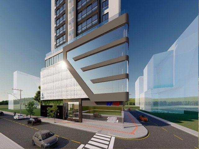 Apartamento em construção, 03 suítes, piscina, varanda, 03 vagas de garagem privativas, Ba - Foto 3