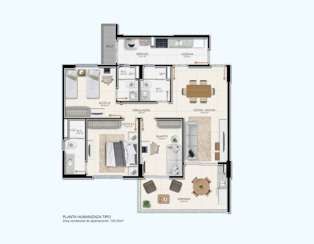 Ravello Residence    <- Lindo Lançamento \\  Jardim Europa, - Foto 7