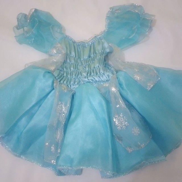 Vestido da Frozen  - Foto 4