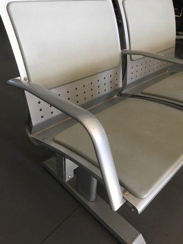Longarina 2 lugares reforçada até 200Kg por assento  - Foto 2