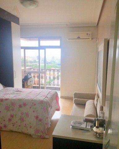 Amplo apartamento no Ed. Solar de Ainá - 3 suítes, estilo clássico, andar alto, bairro do  - Foto 17