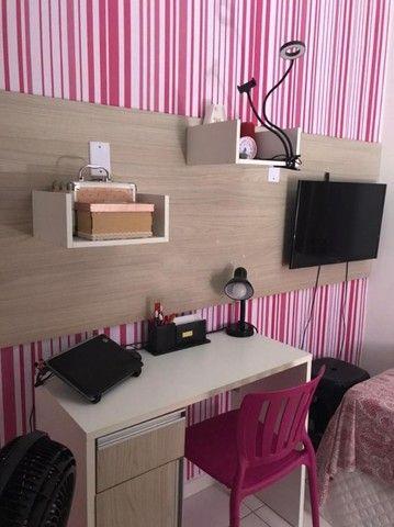 Apartamento 2/4 com Todos os Móveis Planejados - 55m² - Serraria - Foto 5