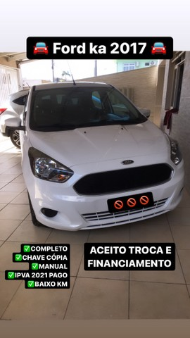 Ford ka 2017 baixo km IPVA pago - Foto 2