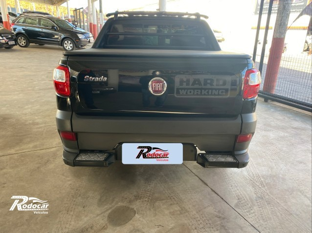 Fiat Strada Hard Working 1.4 Preto - Foto 3