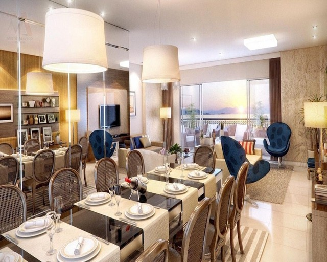 Lindo apartamento no Ed. Number One, novo, área condominial completa, bairro do Umarizal - Foto 13