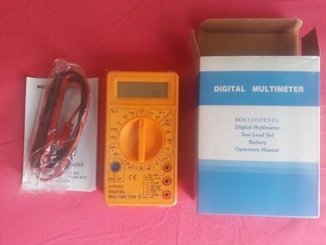 -Promoção de ! Multímetro Digital 830D com Beep Sonoro De Continuidade