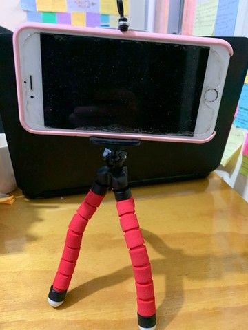 Suporte tripé para celulares  - Foto 4