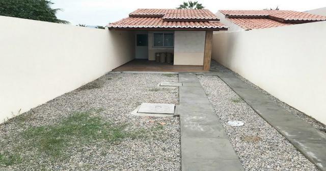 Lindas casas com 6m largura 2 quartos no bandeirante Maracanau