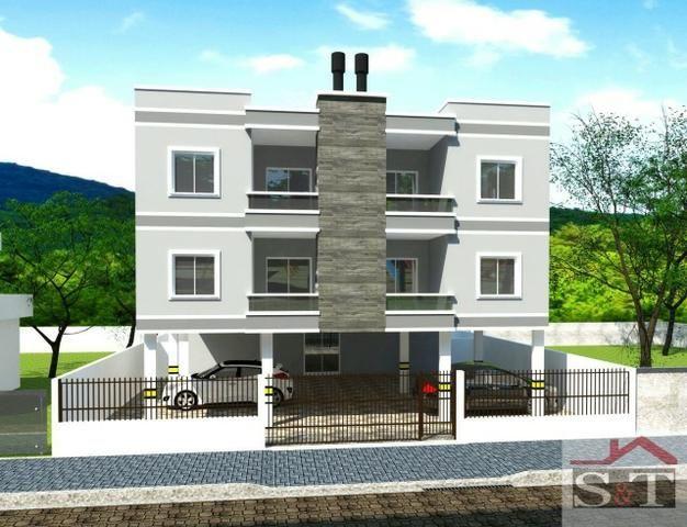 S&T. Apartamento 2 dormitórios, bem localizado no Santinho!