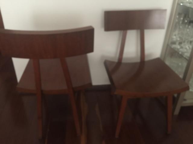 Cadeiras em madeira super confortáveis. Móveis Líder, de qualidade e estilo