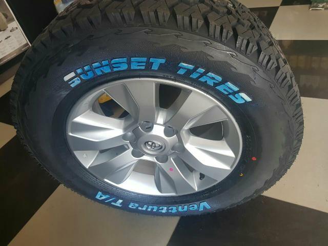 Roda Hilux nova original com pneu novo