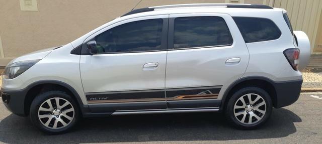 3e156873d3051 chevrolet spin activ 1.8 automatico - carro de mulher - 2016