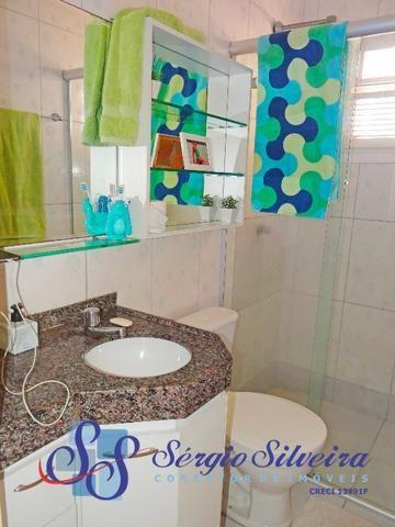 Casa em condomínio fechado no Eusébio com 3 quartos toda projetada - Foto 6