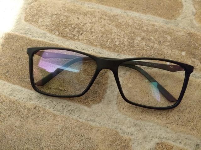 4e9bfe4f6 Armação nova masculino grande grau óculos suporta qqer lente retirar Alto  Boqueirão