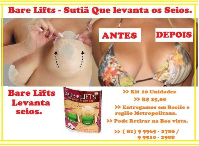 d55cb7b67 Sutiã Levanta Seios - Sucesso das Famosas - Beleza e saúde ...
