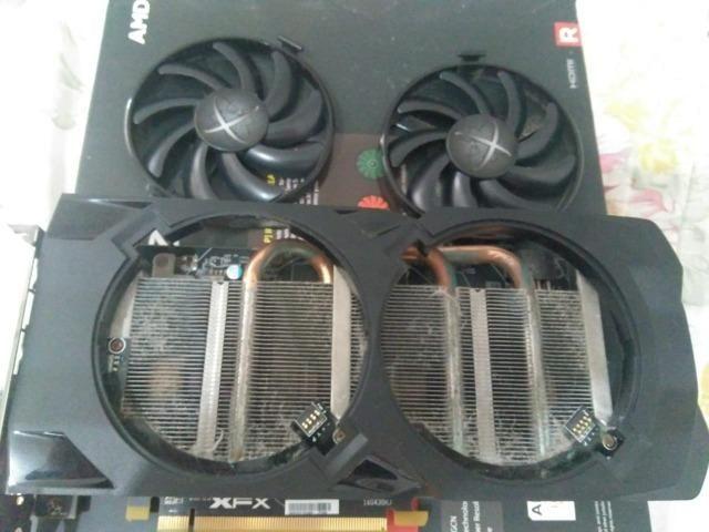 Placa de video Radeon xfx rx 470 4 gb - Computadores e