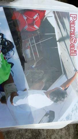 Parasail 26 pés com cadeira e 50 m corda, novo - Foto 6