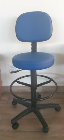 Cadeira giratória tipo mocho - Foto 2