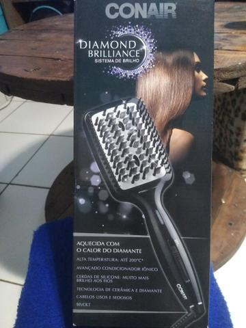 Escova alisante. Pega com cabelo molhado e todos os tipos de cabelo. - Foto 3