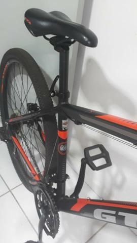 Bike aro 29 GTA freios hidráulicos Oportunidade - Foto 3