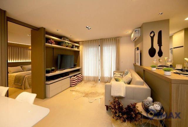 Studio com 1 dormitório à venda, 55 m² por R$ 259.836,24 - Centro - Foz do Iguaçu/PR - Foto 2