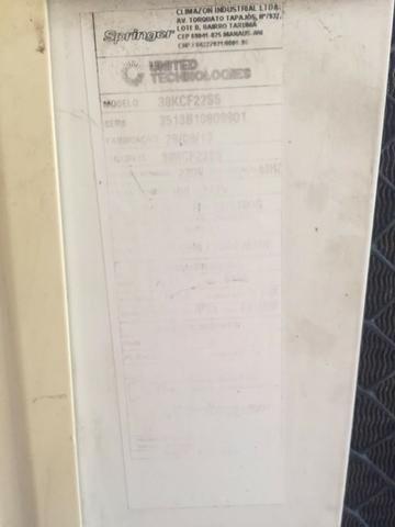 Ar Condicionado Split Springer Midea 22000 BTUs Frio 220V - Foto 2