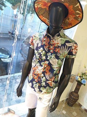Camisa Floral Masculina atacado e varejo - Foto 3