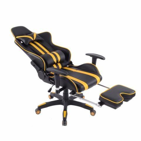 Cadeira de Escritório - Presidente Reclinável (Gamer) - Foto 4