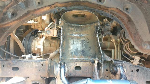Reforço do suporte da mola da Mitsubishi Triton - Foto 2
