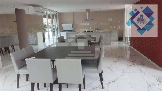 Apartamento com 3 dormitórios à venda, 112 m² por R$ 850.000 - Cocó - Fortaleza/CE - Foto 5