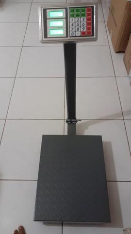 Balança plataforma comercial pesa 300kg - Foto 3