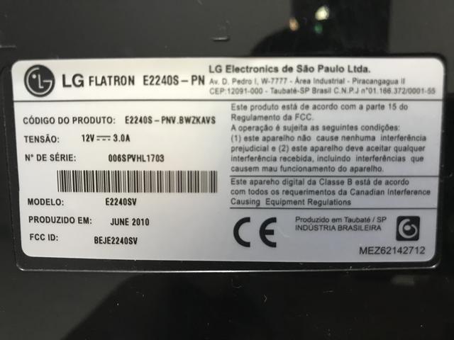 Monitor LG LED LCD Flatron 21.5? Modelo E2240S - Foto 4
