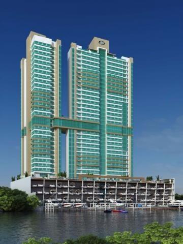 O Marina Beach Towers é o único da América do Sul com uma marina exclusiva, totalmente equ - Foto 2