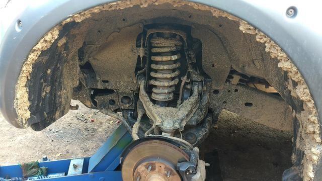Reforço do suporte da mola da Mitsubishi Triton - Foto 7