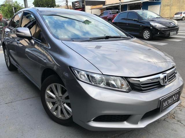 // Honda Civic LXL Automático 2013 - Revisões em Concessionaria!!