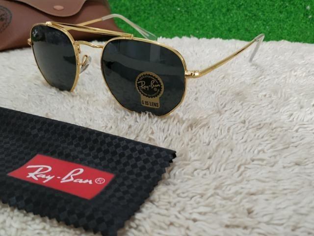 Óculos Ray Ban Marshal dourado - Bijouterias, relógios e acessórios ... d8a5859f9f