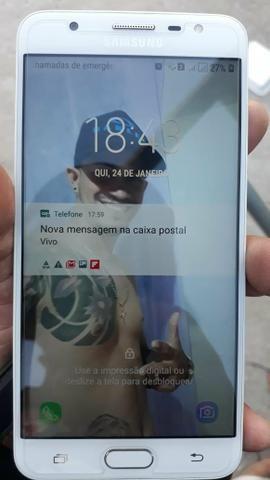 Troco sansung j7 prime em iphone
