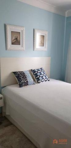 Apartamento quadra mar na Barra Sul, 2 dormitórios sendo 1 suíte, opção para 3º dormitório - Foto 9