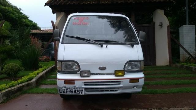 Ásia Towner Truck 96 Pick up carroceria revisada 12x cartões sem juros - Foto 2