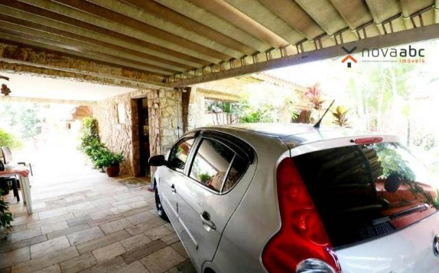 Casa térrea com 4 dormitórios para alugar, 295 m² por R$ 6.000/mês - Parque das Nações - S - Foto 4