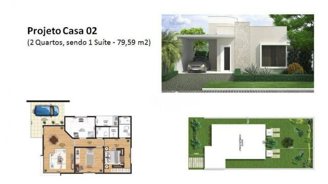 Casa com 2 dormitórios à venda, 99 m² por R$ 285.000,00 - Pindobas - Maricá/RJ - Foto 2