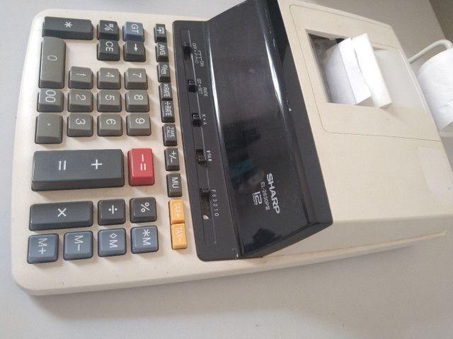 2 Calculadora com impressão - Foto 2