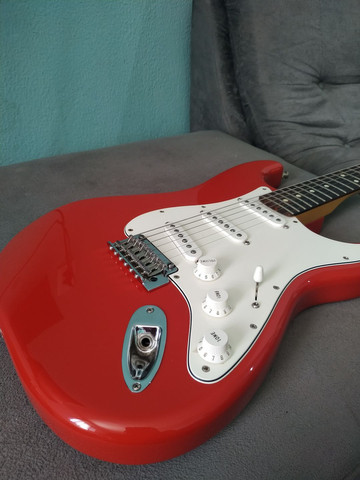 Guitarra fender stratocaster player series - Foto 6