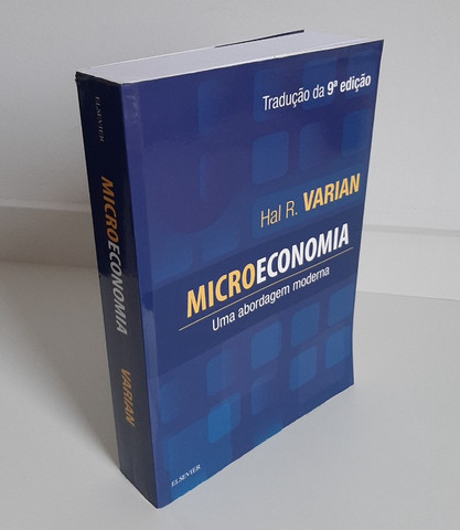 Livro Microeconomia - Hal Varian (9ª Edição) - Foto 3
