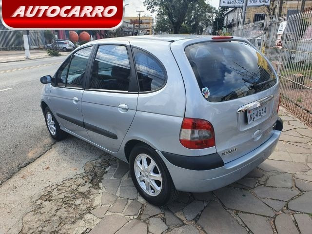 Renault scenic 1.6 expression 16v / 2006 / prata - Foto 3