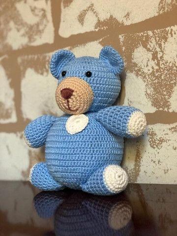 Ursinho Baby Blue - Amigurumi - Foto 2